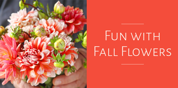 fall floral details