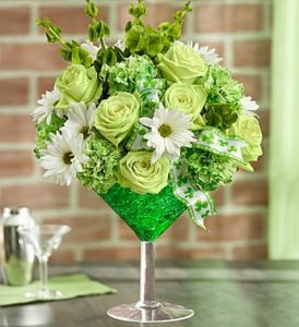 Green Cocktail by Mancuso's Florist