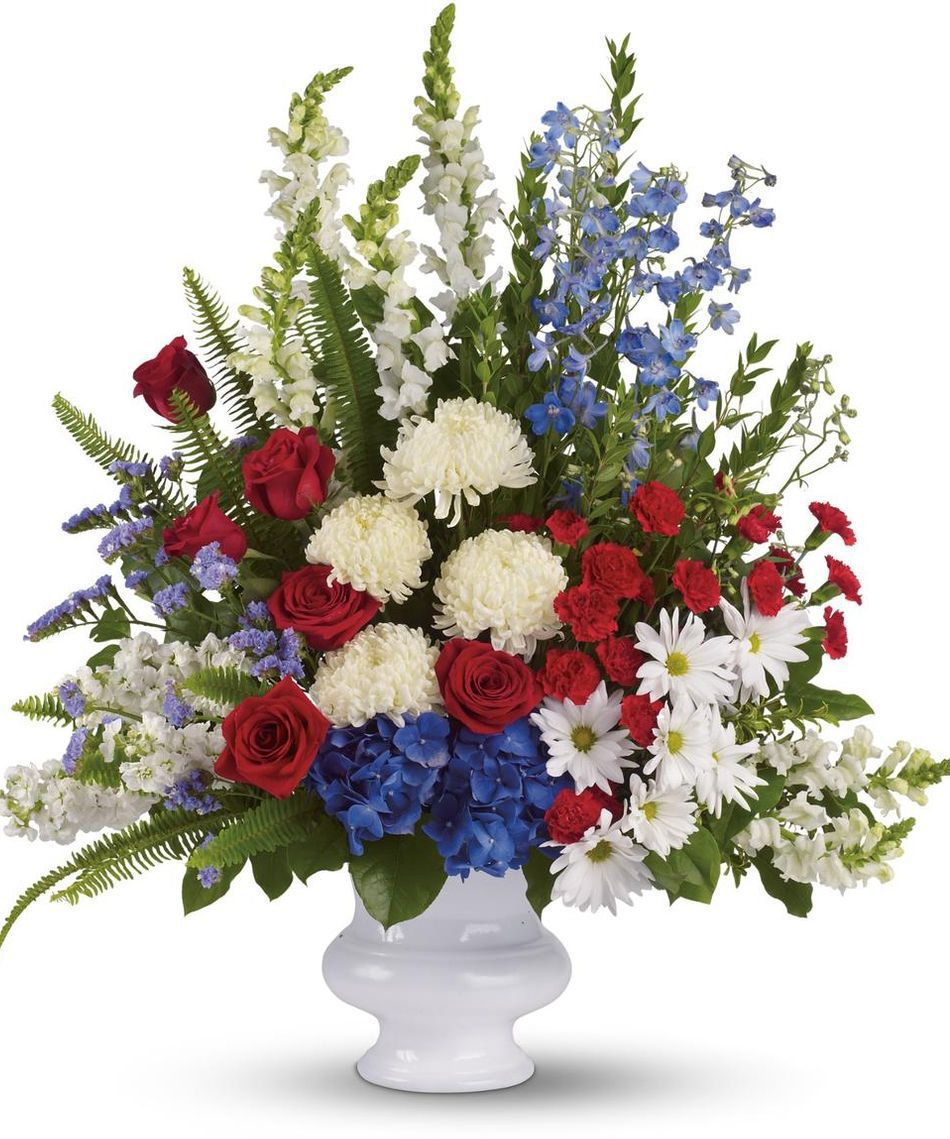 patriotic arrangements